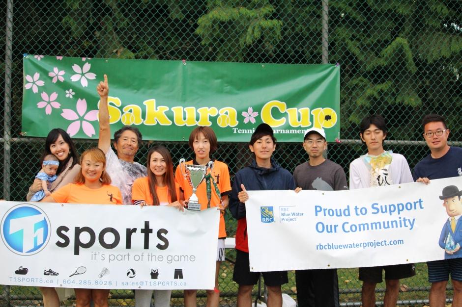 T1 SPORTS 2016 Sakura Cup Tennis Tournament 2