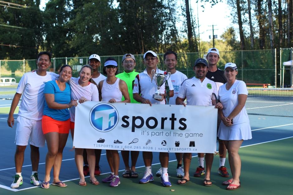 T1 SPORTS 2016 Sakura Cup Tennis Tournament