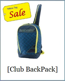Babolat 150924 Club Backpack Blue Yellow