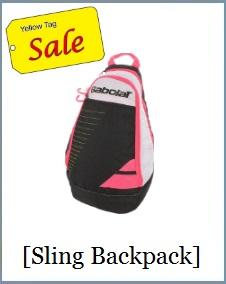 Babolat 156529 Sling Bag Black Pink