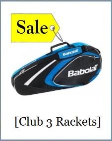 Babolat Racket Holder x3 Club Blue