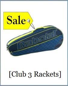 Babolat Racket Holder x3 Club Navy