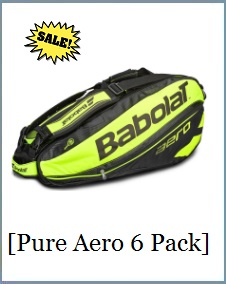 Babolat Racket Holder x6 Yellow Aero