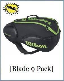 Wilson Blade 9 Pack BKGR