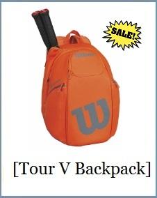 Wilson Tour V Backpack ORGY