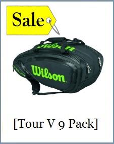 Wilson TOUR V9 Pack BKLI